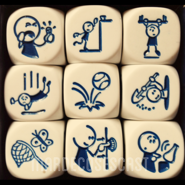 Morfosintaxis : Story Cubes Actions