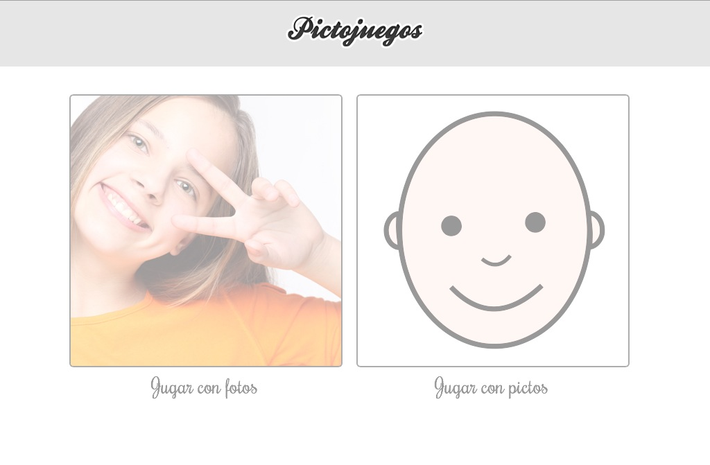 Pictojuegos: Emociones y Pictomemory