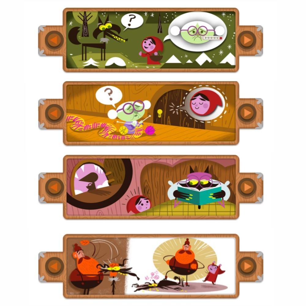 Doodle de Google Caperucita Roja