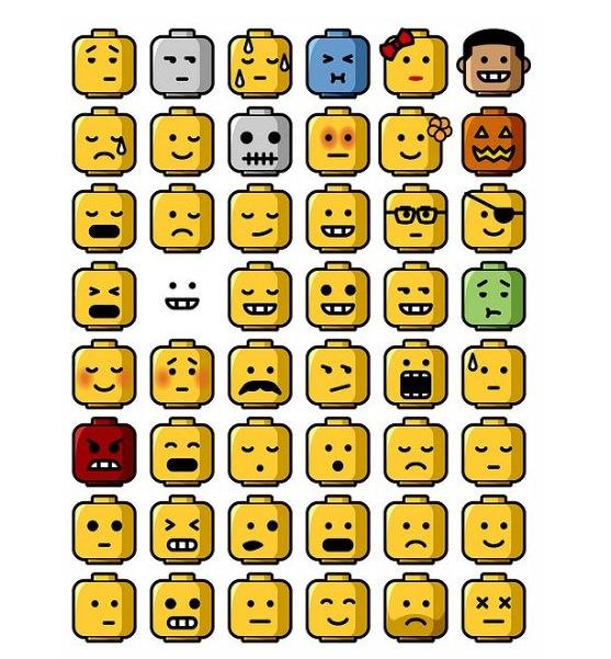 Imagen de la portada :http://chichabit.tumblr.com/post/894016330/legos-via-snoopyinthesky-many-faces-of-lego